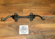 1973 YAMAHA RD350 RIDER FOOTREST SUPPORT BRACKET AND FOOTRESTS
