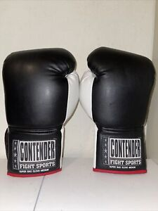 Contender Fight Sports Super Bag Gloves, Medium, gently used, 12 oz gloves