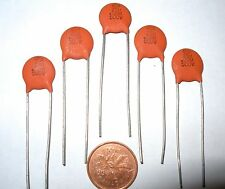 5 NOS Sprague Z5U Ceramic 0.02mfd 500v Amp/Guitar Capacitor GIBSON LES PAUL