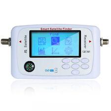 Digital Satellite Signal Finder Meter LCD Display Sat Finder with Compass R4V5