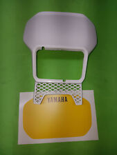 - Yamaha XT600 XT 1VJ 2KF Tenere Lampenmaske Maske Scheinwerfermaske weiß gelb