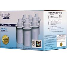 Great Value Pitcher Cartridge, 5-Pack