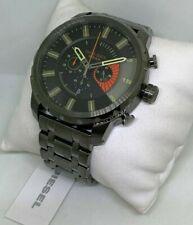 Diesel Stronghold Men All Stainless Steel Chronograph Quartz Analog Watch DZ4348