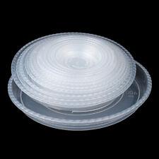 1/5pcs Round Small Medium Large Plastic Plant Pot Saucer Water Tray BaseLDUKK
