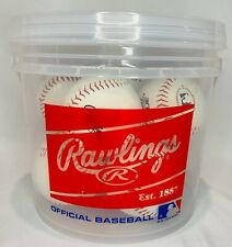 Rawlings 8 Pack Bucket of Balls