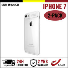 2IN1 Focus Armor Cover Cas Coque Etui Silicone Hoesje Case For iPhone 7 White