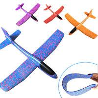 Hand Throw Airplane Outdoor EPP Foam Launch Glider Plane Kids Gift Toy 49*43cm