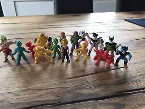 Lot de 17 Figurines DBZ Dragon Ball Z 1989 AB Toys