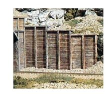 Woodland Scenics C1260 Retaining Walls 3 Timber Sections 1:87 Scale-HO Gauge 1st