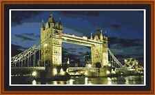 London Tower Bridge Cross Stitch Kit