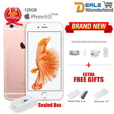 New Sealed Box Apple iPhone 6S Plus 128GB Mobile Phone Rose Gold Unlocked