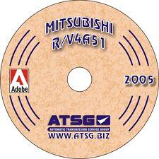 Mitsubishi Pajero & Triton R5A51 5 Speed 2WD ATSG Workshop Manual