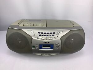 Sony CFD-S26 CD Cassette Radio Player Stereo AM/FM Boombox Tested & Works