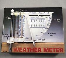 6 Way Weather Meter, New