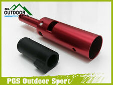 Paintball Tippmann A5 A-5 X7 Power Tube & Delrin Front Bolt Red free shipping