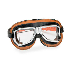 Motorradbrille Climax 513 S - orangebraun