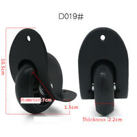 1 pair Replacement Luggage Wheel Trolly Suitcase Repair Wheel for any bags D019