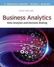 Business Analytics Data Analysis and Decision Making  6e (3 Days to AUS)
