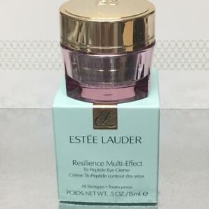 New Box Estee Lauder Resilience Multi-Effect Tri-Peptide Eye Creme .5oz Full Sz