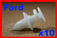 10 FORD PORTA CARD Fascia Pannello di copertura fodera Trim Fastener Clips