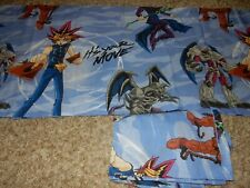Set of 2 84x15 Vintage Yugioh Window Valances (Fabric) Yu-Gi-Oh