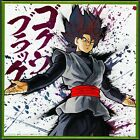 Dragon Ball Super Shikishi Art Board Metallic Extreme Saiyan SS Rose Goku Black
