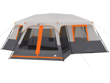 12 Person Instant Cabin 20 x 18 Tent 3-Room Camping Outdoor Family Screen Room