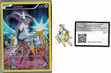 ARCEUS Pokemon Mythical Collection Promo XY116 +  Matching Pin + Online Code