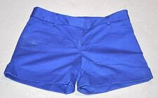 EXPRESS BLUE SHORTS NEW SHORT 4 FOUR LADIES SUMMER FALL BACK TO SCHOOL FASHION
