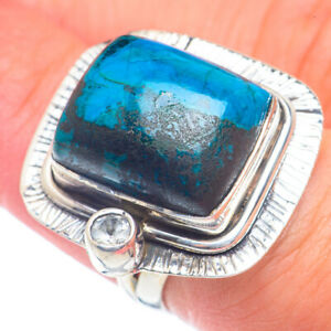 Chrysocolla 925 Sterling Silver Ring Size 6.25 Ana Co Jewelry R71854F