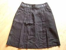 Jupe noire KOOKAI noire t 36-38 / jolie coupe fluide / bien noire!