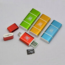 Micro USB 2.0 OTG Adapter Micro SD MMC Card Reader For PC Samsung S3 S4 Sony HTC