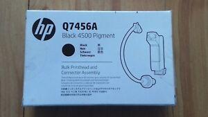 ORIGINAL HP Q7456A BLACK 4500 PIGMENT BULK PRINTHEAD & CONNECTOR ASSEMBLY. NEW