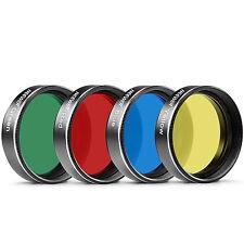 """Neewer Standard 1.25 """"filtres de quatre Couleurs pour Télescope Oculaire ..."""