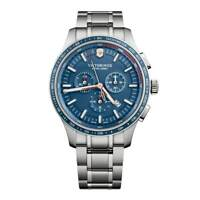Victorinox Swiss Army Men's Watch Alliance Sport Chronograph Blue Dial 241817
