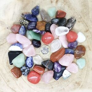50 x Assorted Crystal Tumblestone Sets Collections 456g-584g Reiki seconds