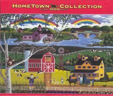 Heronim Wysocki Hometown Collection Puzzle Rainbows