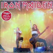 "IRON MAIDEN - Running Free Live / Sanctuary 7"" Vinyl Record Classic Metal SEALED"