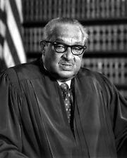 SUPREME COURT JUDGE THURGOOD MARSHALL 8X10 PHOTO