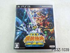 Super Robot Taisen OG Saga III Japanese Import Playstation 3 Wars PS3 US Seller
