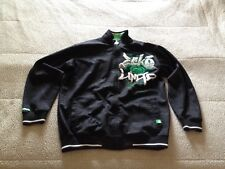 Ecko Unltd. Men's Writing All Wrongs Graffiti  Hoodie Size L Large Green Black