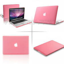 Pink Case + Clear Keyboard Cover+Screen Protector For Macbook Pro w/ Retina 13""