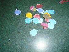 200 Stampin Up Balloons Paper Die Cut Punches Confetti Party