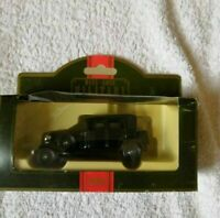LLEDO DIECAST MODEL CAR MILITARY DAYS GONE BLACK ROLLS ROYCE