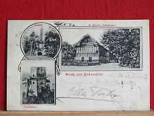 3-Bild-AK - Hadersfeld - gel.1904 - A. Aigners Restauration - Gem Andrä-Warden