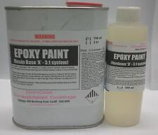 Epoxy Flowcoat - 3:1 ratio - 1Lt kit WHITE (FREE FREIGHT)