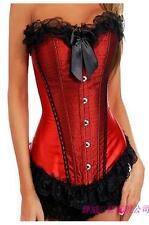 New Ladies Burlesque Fancy dress Moulin Rouge corset  & Tutu costume