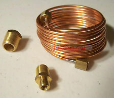 Copper Oil Line Kit For Mechanical Gauge Ford Chevy Dodge Plymouth Rat Rod