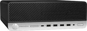 HP ProDesk 600 G3 SFF I3-7100 3.90GHZ 8GB 256GB SSD HD630 Windows 10