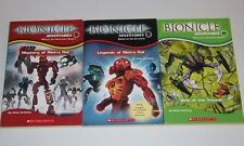 LOT Bionicle Adventures 1 4 7 Mystery of Metru Nui Legends Web the Visorak LEGO